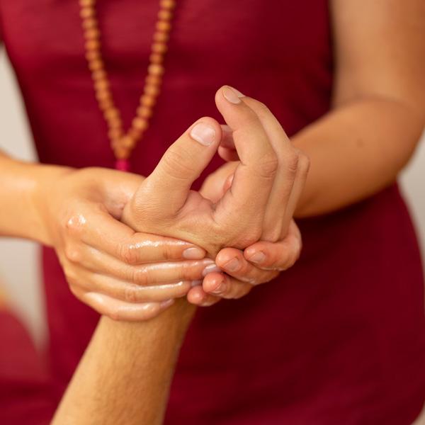 Ayurvedische Marma Massage