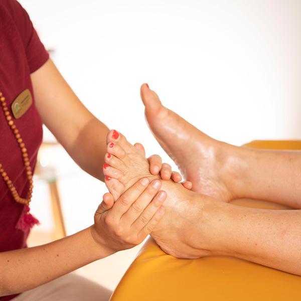 Padabhyanga Ayurveda Massage